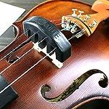 HeroNeo Sordina de caucho negro para violín, para estudiar