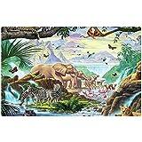 irocket intérieur Tapis de sol Tapis/– faune africaine (59,9x 39,9cm 60cm x 40cm)