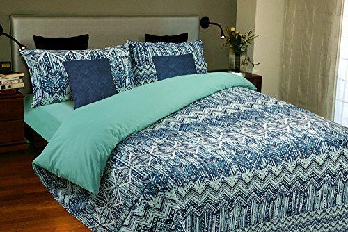 Juego de sábanas Algodón 100% OCEANIC (para cama de 135x190/200)