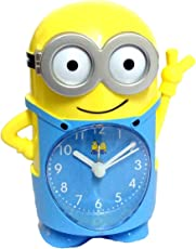 Innovative Cute Cartoon Kids Table/Desk / Shelf Alarm Clock