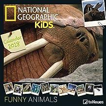 Funny Animals 2018 NG - Tierkalender, Naturkalender, Broschürenkalender - 30 x 30 cm