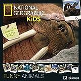 2018 National Geographic Funny Animals Calendar - TeNeues Grid Calendar - Photography Calendar - 30 x 30 cm