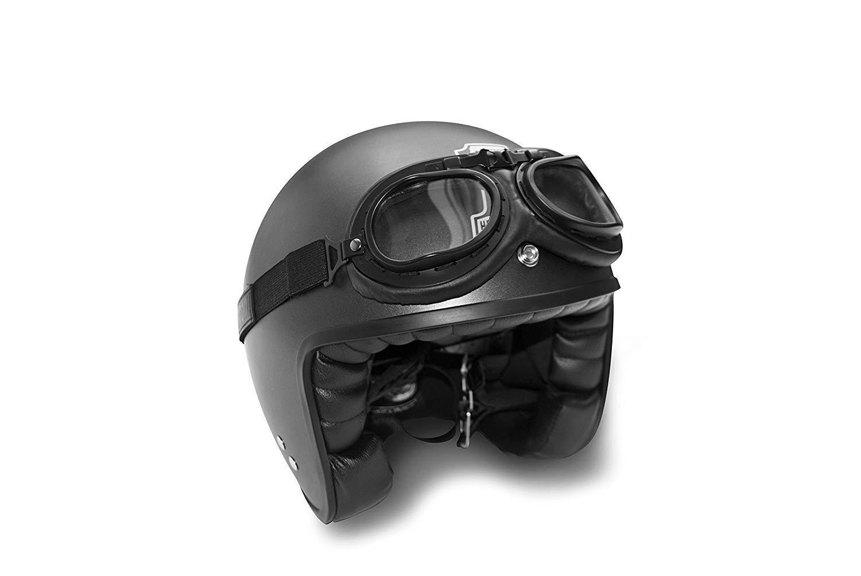 Masque moto aviateur Bertoni AF195 4