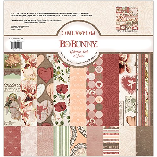 Bo Bunny Papier Collection Pack, 30,5x 30,5cm