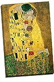Panther Print - Poster con stampa artistica su tela, motivo: 'Il bacio' di Gustav Klimt, 76,2 x 20 x 50,8 cm