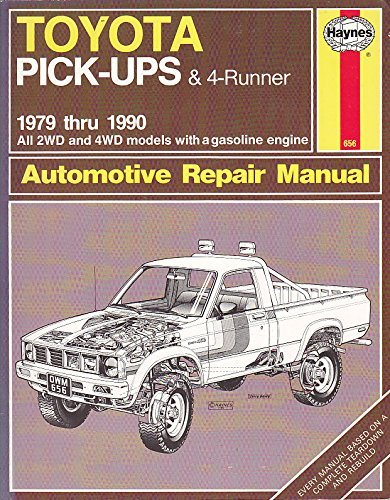 Toyota Pick-up and 4-Runner 1979-90, All 2WD and 4WD Models Owner's Workshop Manual by J. H. Haynes (1990-04-24) (Toyota Pickup 1979)