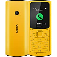 Nokia 110 4G with Volte HD Calls, Up to 32GB External Memory, FM Radio (Wired & Wireless Dual Mode), Games, Torch…