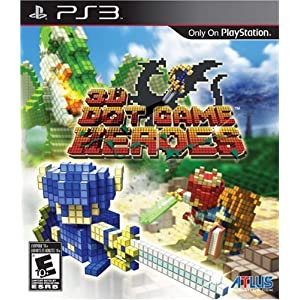 3D Dot Game Heroes – PlayStation 3 (US IMPORT)