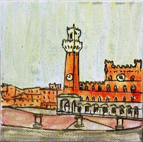 piazza-del-campo-en-siena-lienzo-ejecutado-con-acrilico-tamano-del-cm10x1x10cm-tecnica-made-in-italy