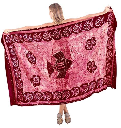 annata costumi da bagno di cotone batik hawaiian bikni gonna pareo 100% delle donne (Camicia In Cotone Piqué Sport)