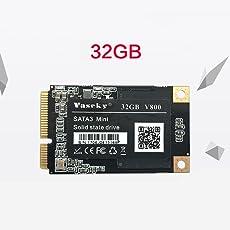 Vaseky 32G 1.8Inch Mini MSATA SSD Festkörperlaufwerk Notebook Desktop Computer