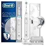 Oral-B Genius Dragonfly White Pro 10000 Şarj Edilebilir Diş Fırcası, Beyaz
