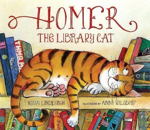 Homer, the Library Cat