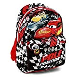 Cars 3 Pole Zaino Casual, 42 cm, 21 liters, Nero (Negro)