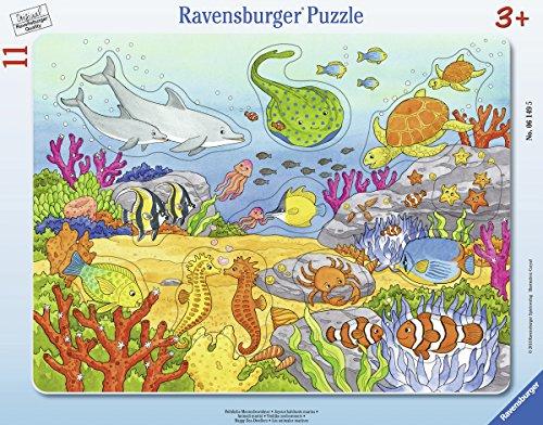 Ravensburger Rahmenpuzzle 06149 Fröhliche Meeresbewohner