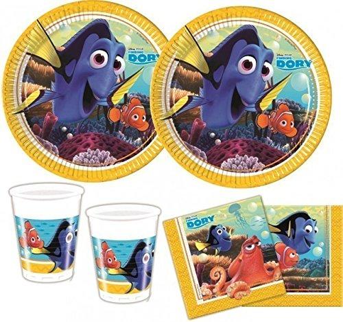 et Nemo Party Deko Basis Set - für 8 Kinder (Nemo-party)