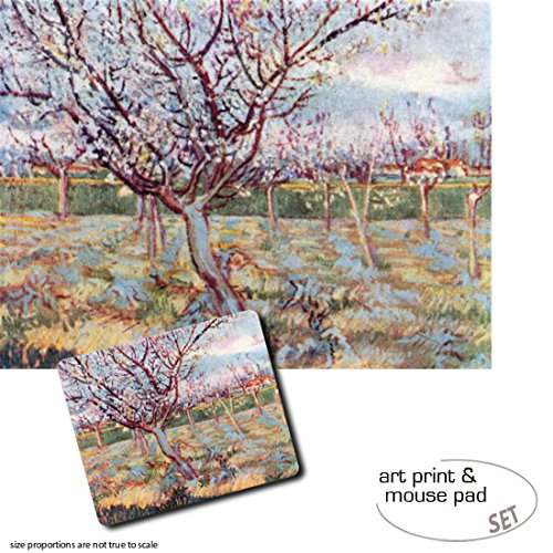 set-regalo-1-pster-impresin-artstica-80x60-cm-1-alfombrilla-para-ratn-23x19-cm-vincent-van-gogh-flor
