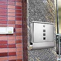 forin Buzón con periódicos, acero inoxidable contra el óxido., amplia y 37386–Post Buzón, 30,5x 34x 8,5cm