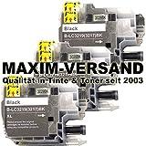 3 XL MAXIMPRINT Drucker-Patronen Set als Ersatz für Brother LC-3217 BK XL & LC-3219 BK XL Schwarz / Black mit Chips und Füllstandsanzeige kompatibel zu Brother MFC-J 5330 DW / MFC-J 5330 DW XL / MFC-J 5335 DW / MFC-J 5730 DW / MFC-J 5830 DW / MFC-J 5930 DW / MFC-J 6530 DW / MFC-J 6535 DW / MFC-J 6535 DW XL / MFC-J 6730 DW / MFC-J 6930 DW / MFC-J 6935 DW Patronen mit Tinte / Tintenpatronen