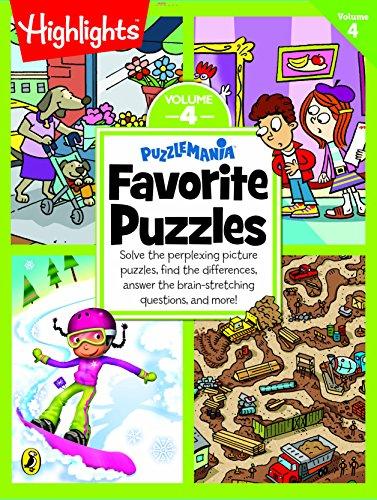 Puzzlemania Favorite Puzzles - Vol 4