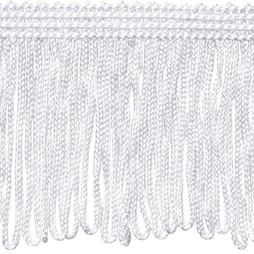 PRYM Fransenborte 60mm Farbe: weiß 25 m # 918720 NEU in OVP
