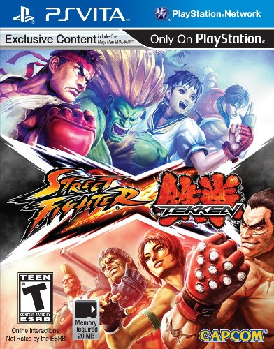 Capcom Street Fighter x Tekken, PS Vita - Juego (PS Vita)