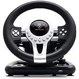 SPIRIT OF GAMER – RACE WHEEL PRO 2 – Volant de Course Avec Pédales, Palettes et Levier de Vitesse – Rotation du Volant…