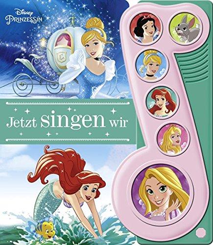 Disney Prinzessin - Jetzt singen wir - 6-Button-Liederbuch