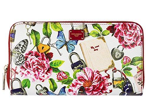 Dolce&Gabbana Damen Geldbörse Portemonnaie Echtleder Geldbeutel Bifold secret We (& Dolce Damen-geldbörsen Gabbana)