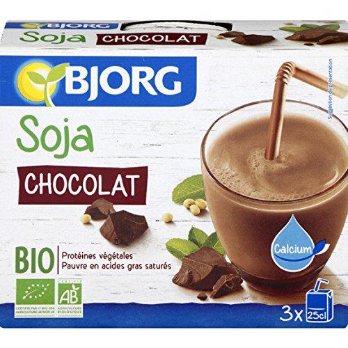 bjorg Boisson à base de soja et au chocolat, certifié AB ( Prix unitaire ) - Envoi Rapide Et Soignée
