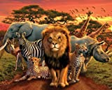 empireposter - African Kingdom - Animals - Größe (cm), ca. 50x40 - Mini-Poster, NEU -
