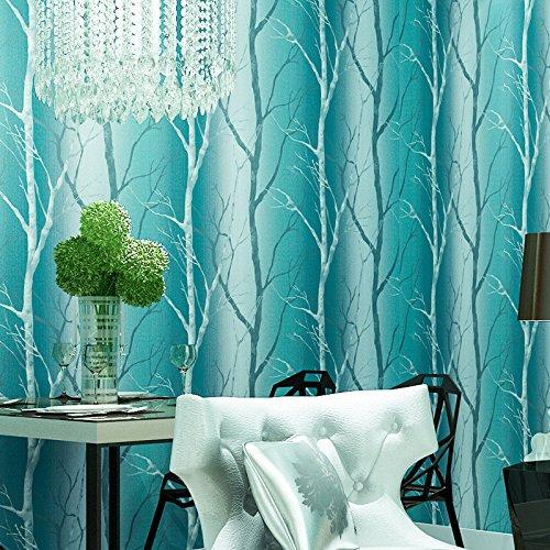 BBSLT Semplice, ecologico non-tessuto albero a colori TV in soggiorno, camera da letto matrimoniale sfondo , 4 ,