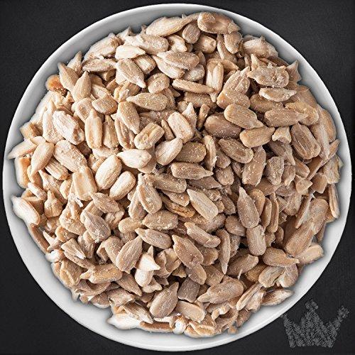 Sonnenblumenkerne Nüsse & Saaten, geschält, natur, 1.Sorte, zum Knabbern & Backen, für Salate & Desserts, 400g - Bremer Gewürzhandel