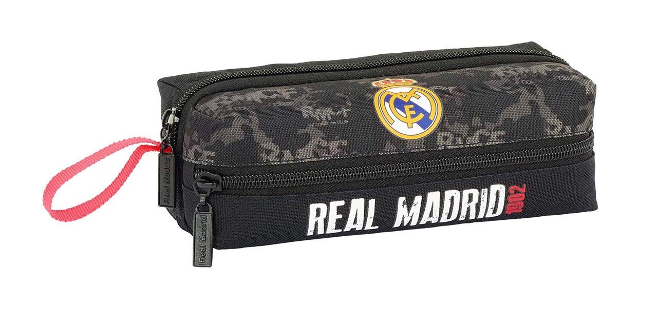 Safta PORTATODO 3 CREMALLERAS REAL MADRID NAVY 20x7x8 Multicolor (841902823
