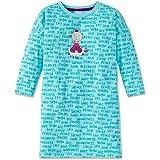 Schiesser Mädchen Nachthemd langarm 159257, türkis, 116