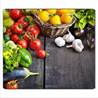 Herdschutz aus Glas Gemüse motiv Herdabdeckplatte 59x52 für Ceran//Induktion