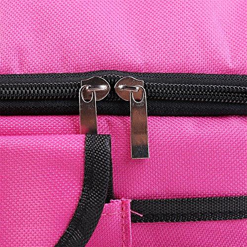 Lunch box Borsa multifunzione, medicina e cibi Outdoor Lavoro o da viaggio Arancione Rosa