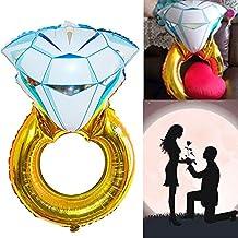 Globo Balón hinchable anillo diamante Proposta boda Día amor