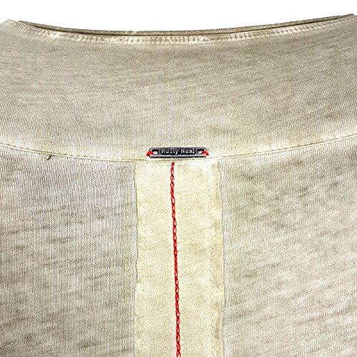 HERREN T-Shirts TShirt NEU Größe S M L M XL XXL RUNDHALS KURZARM Regular RN15045 Khaki