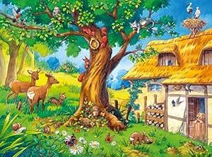 Ravensburger 05506 - WWW Wieso? Weshalb? Warum?: Wo die Tiere wohnen-Puzzle, 79 Teile