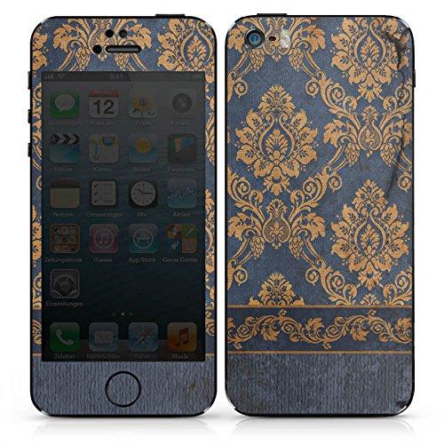 Apple iPhone 4 Case Skin Sticker aus Vinyl-Folie Aufkleber Ornamente Barock Muster DesignSkins® glänzend