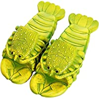 Lobster Slippers Summer Funny Animal Flip Flops Kids Cute Beach Shoes Women Soft Creative Shower Sandals Men Casual…