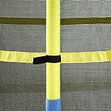 Upper Bounce Kinder UBSF01-55 Trampolin, Blau/Gelb/Schwartz, 140 cm
