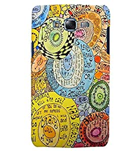 Citydreamz Crazy/Simple/Love/Abstract Modern Art Hard Polycarbonate Designer Back Case Cover For Samsung Galaxy Grand 2 G7102