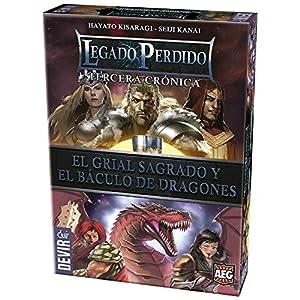 Devir – Legado perdido 3, el Grial Sagrado y el báculo de Dragones (BGLEG3)