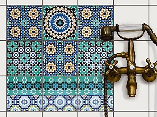 Mosaïque murale - carrelage adhesif | Autocollant Stickers Carrelage ...