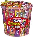 Haribo Maoam Stripes, Dose, 150 Stück, 1050g