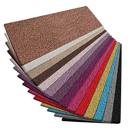 Passatoia corridoio al metro - tappeti lunghi a metraggio, shaggy pelo lungo (2 cm), in vari colori - rosso - 80x300cm