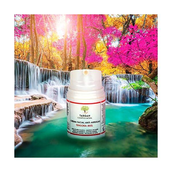 Crema Ecológica Hidratante Facial Antiarrugas con Ácido Hialurónico y Colágeno. Tratamiento Reafirmante Antiedad y…