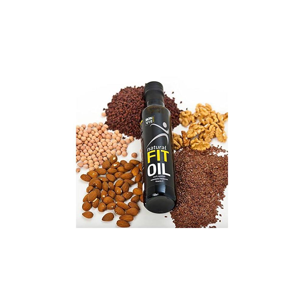 Natural Fit Oil Omega 3 Pflanzenl 100 Natrliche Nahrungsergnzung Hochwertige L Kombination Ungefiltert Kaltgepresst Hergestellt In Sterreich Rein Pflanzlich Vegan